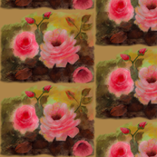 Roses In Beige