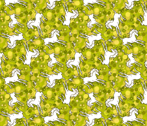 chartreuse unicorns
