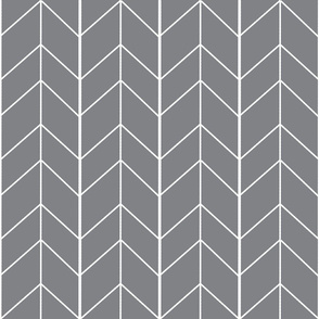 Gray chevrons