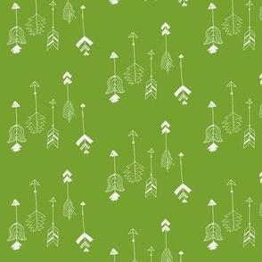 Vertical Arrow- Green