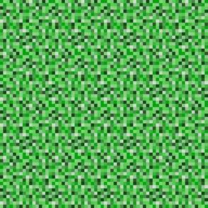 Green 8-bit Print Small
