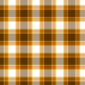 Honey Gold Plaid