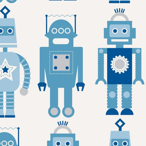 Robots Wallpaper Pattern
