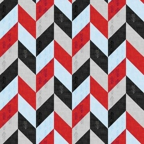 Desert Chevron (SMALL) red