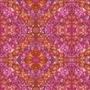 Bokeh Dreaming Coral & Pink