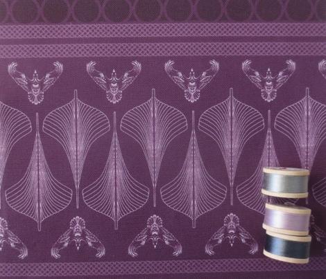 viking hulls skirt vinland purple