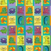 Monster Quilt