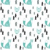 Forest Foxes White