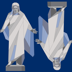 Spoonflower_Blue_Christus_double_42x36_PeggyAare
