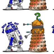 R2 meets Dalek