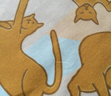Cubist cats - Café au lait