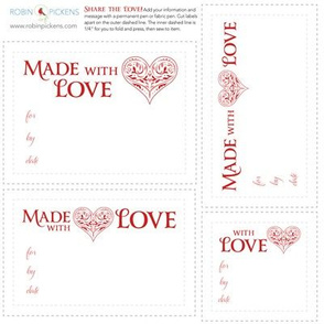 RP Quilt Fabric Labels_Love FancyHeart