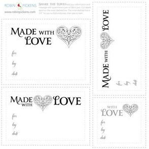RP Quilt Fabric Labels_Love2 FancyHeart