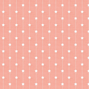 Star Path, Blush Linen