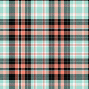 Retro Tribal ~ New Mexico ~ Plaid