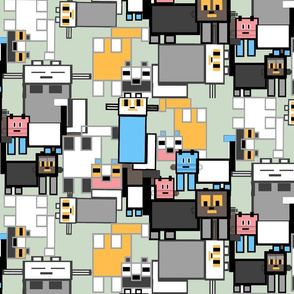 Mondrian's Moggie