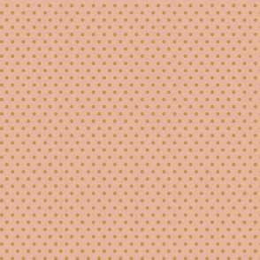 Blush Gold polka