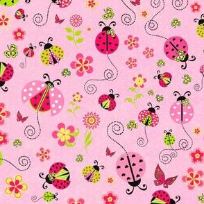 Ladybug Luck Pink