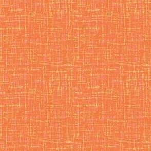 spring quilt orange barkcloth