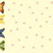 4-Butterflies YardGoods