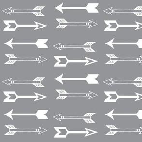 Arrows on Grey - Grey Arrows
