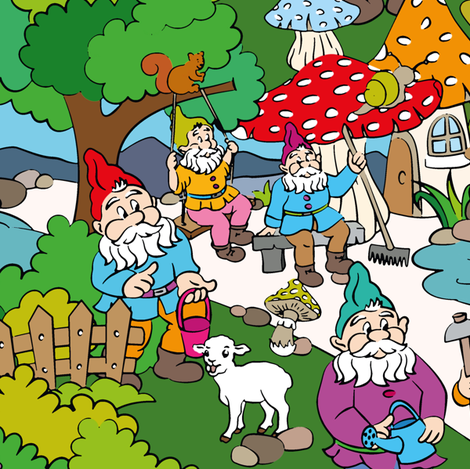 Dwarves in the forest