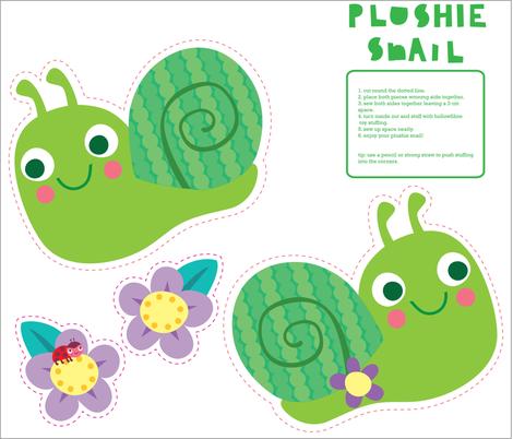plushie snail
