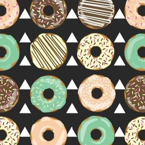 DONUTS AND TEEPEES BLACK