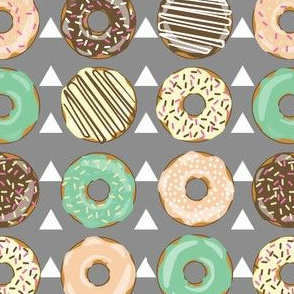 DONUTS AND TEEPEES gray