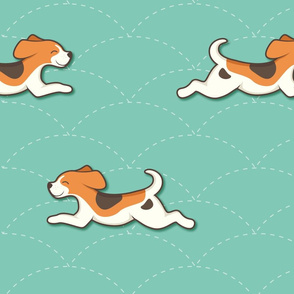 Beagle Pattern - large
