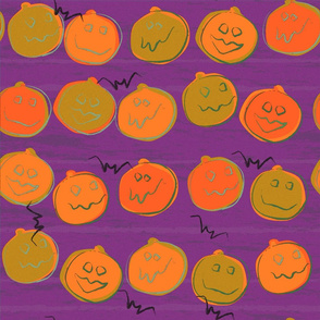 Pumpkin purple