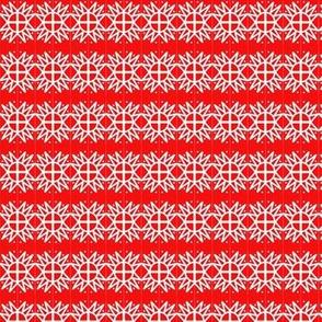 Stargazer Red White