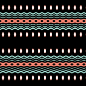 Retro Tribal ~ New Mexico ~ Tribal Bands I