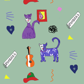 cubist_cats__hats_and_guitars