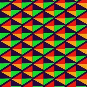 Orange Green Maze