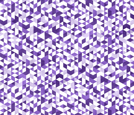 Geometric Background Purple