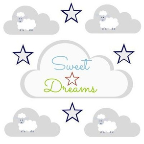 Sweet Dreams - sheepy Stars Pacific