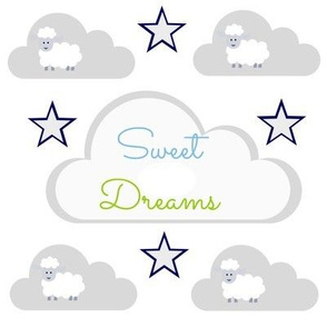 Sweet Dreams 2 - sheepy stars - Pacific