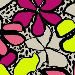 Spotty floral