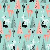 Deer Dwelling: Aqua