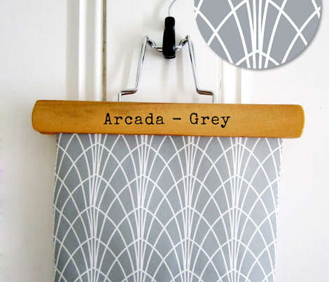 Arcada Geometric Grey