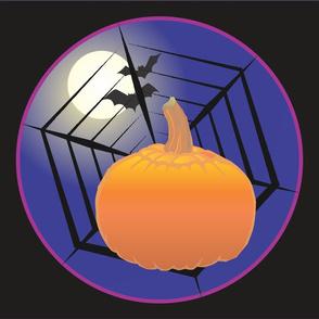 Pumpkin and Spider Web