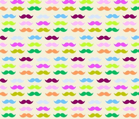 Mustache Candy-vanilla