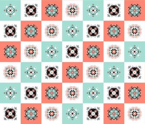 Checker_board_ tiles 4