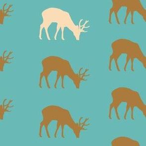 mystic deer aqua