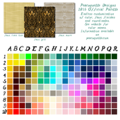 Peacoquette Designs Official Palette 2015