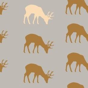 Mystic Deer Gray