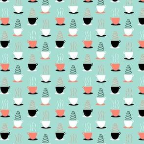 Bakery Date Tea Cups on Mint