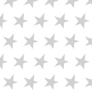 grey star - silver