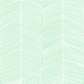 Herringbone - Mint